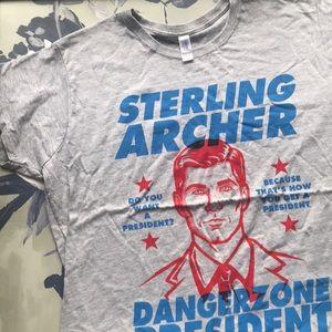 Archer for President T-shirt Ladies 3X